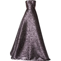 Alex Perry Marston gown - パープル