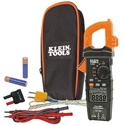 Klein Tools CL800 Digital Clamp Metre with AC/DC Auto-Ranging
