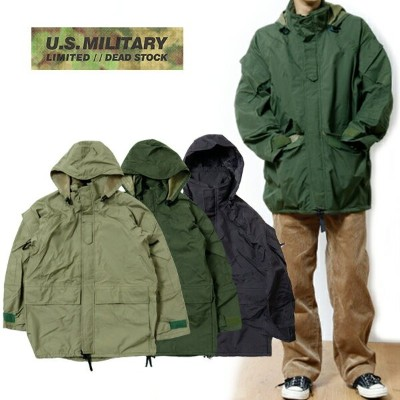 ★ SALE ★ セール商品・返品交換不可 ★MILITARY ミリタリーDEAD STOCK U.S. ECWCS PARKA COMERCIAL デッドストック エクワクス パーカー【送料無料...