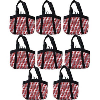 Planet E Reusable Grocery Shopping Bags – Large折りたたみボックスwith Reinforced Bottomsリサイクルプラスチック製(パックof 3...