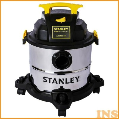 Stanley SL18410 5 Gallon 4 HP Pro Stainless Steel Series Wet and Dry Vacuum Cleaner SL18410-5Bスタンレー...