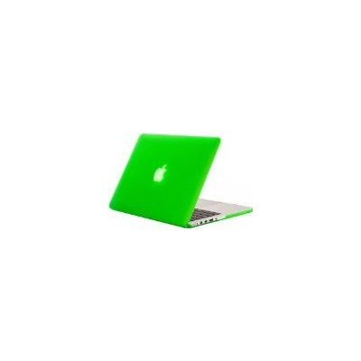 "Kuzy - Retina 13-Inch GREEN ゴム引きハードケース for MacBook Pro 13.3"" with Retina Display A1502 / A1425 ..."