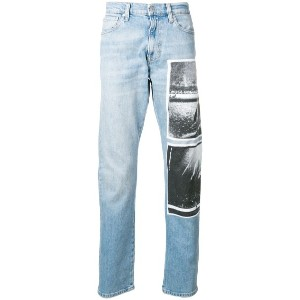 Calvin Klein Jeans Andy Warhol ジーンズ - ブルー