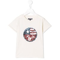 Woolrich Kids American Smiley Tシャツ - ホワイト