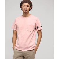 【BASE CONTROL(ベースコントロール)】 スターライン Tシャツ OUTLET > BASE CONTROL > トップス > Tシャツ ピンク