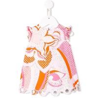 Emilio Pucci Junior プリント ワンピース - ピンク