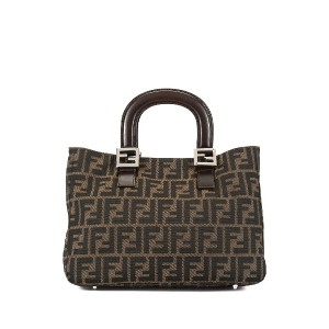 Fendi Pre-Owned Zucca トートバッグ - ブラウン