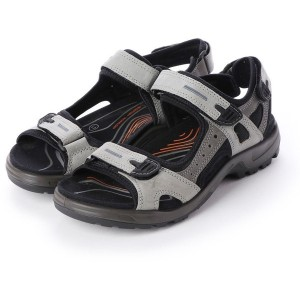 エコー ECCO Mens OFFROAD Sandal (WILD DOVE/DARK SHADOW) メンズ