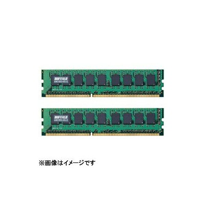 BUFFALO バッファロー PC3-10600対応DDR3 SDRAM with ECC for Mac(2GB×2枚)A3E1333-2GX2[A3E13332GX2]