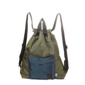 【The Brown Buffalo】HOBO BACKPACK オリーブ