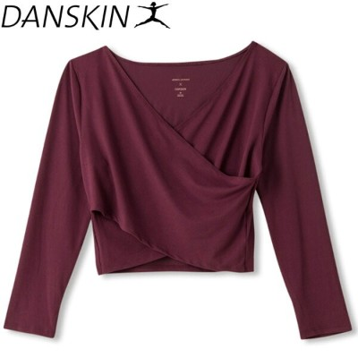 ダンスキン JENNA DEWAN COLLECTION CROSS OVER TOP レディース DAJN5900-PM