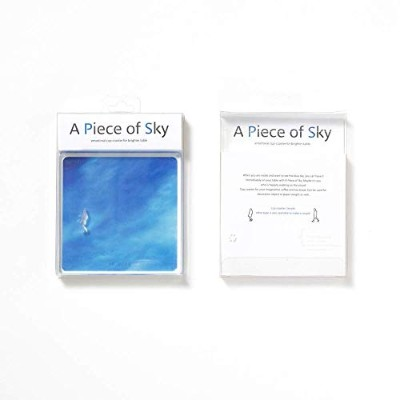 [re,play404] A piece of sky コースター(woman)