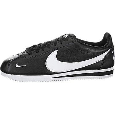 Nike Classic Cortez PREM [807480-004] Men Casual Shoes Black/White/US 10.5