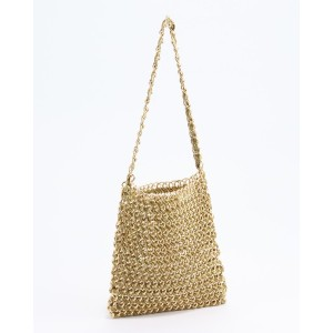 Casselini SHOPチェーントート○183970502 Gold カバン・バッグ