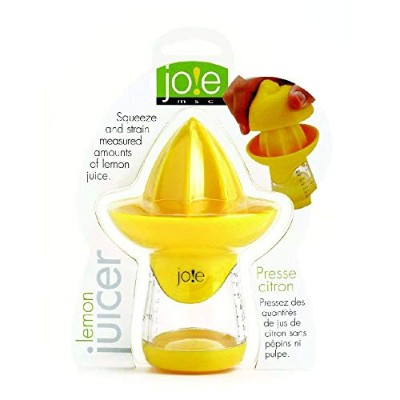 (Lemon Juicer) - Joie Lemon and Lime Juicer and Reamer, Yellow