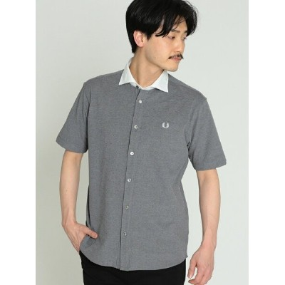FRED PERRY FRED PERRY × BEAMS / 別注 カッタウェイ フルオープン ポロシャツ 19SS ビームス メン カットソー【RBA_S】【送料無料】