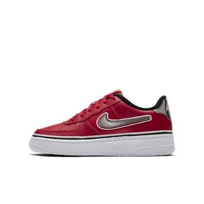 Nike Air Force 1 LV8 Sport GS [AR0734-600] Kids Casual Shoes NBA Red/Black/US 7.0Y