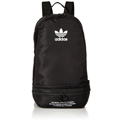 Adidas Originals双方向Packableバックパック One Size ブラック