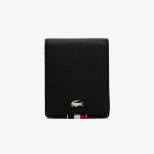 LACOSTE DOUX ソフトレザーパスケース