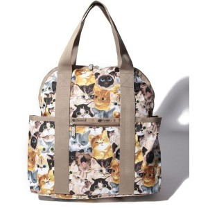 LeSportsac DOUBLE TROUBLE BACKPACK/キャットカフェベーネ