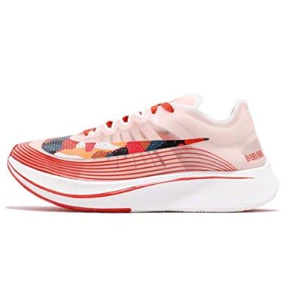 Nike Zoom Fly SP [AJ9282-800] Men Running Shoes Team Orange/Black-Habanero Red/US 8.0