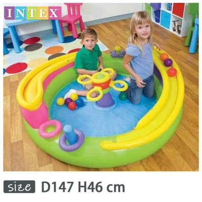 INTEX(インテックス)丸形ローリングプレイセンターRP147【 147 × 46 cm】Ball Toyz Lil Rolling Play Center 48658
