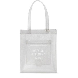 OPENING CEREMONY WOMENS 【再登場!】OC CLEAR GLITTER TOTE BAG / クリア グリッタートートバッグ