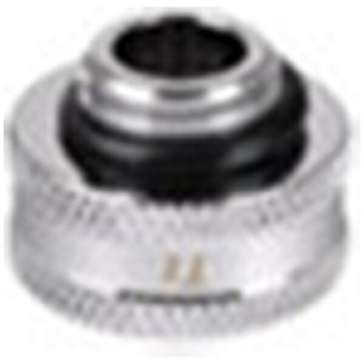 THERMALTAKE サーマルテイク 〔カスタム水冷〕 Pacific G1/4 Female to Male 10mm extender - Chrome/DIY LCS/Fitting CL...