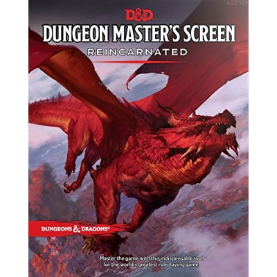 DD Dungeon Masters Screen Reincarnated DDN