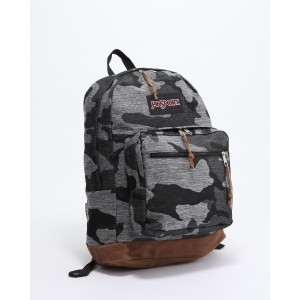 JANSPORT RIGHT PACK EXPRESSIONS GREY DENIM CAMO JACQUARD○TZR608U Grey denim camo jacquard カバン・バッグ