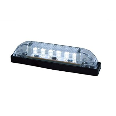 LED Bar Light - Heavy Duty, Water resistant 12 Volt DC LED courtesy convenience lamp, 4 length by...