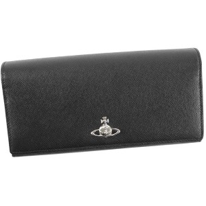 【SALE 40%OFF】ヴィヴィアンウエストウッド Vivienne Westwood PIMLICO LONG WALLET WITH CHAIN (BLACK) レディース