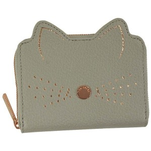 【SALE 19%OFF】テッドベーカー TED BAKER CATS WHISKERS SML ZIP PURSE (GREY) レディース