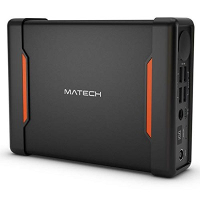 MATECH GiantCell+ Outdoor Series 大容量モバイルバッテリー ポータブル電源 61200mAh/220Wh 家庭用蓄電池 4つの充電方法 シガーソケット(130W...