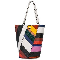 Proenza Schouler Patchwork Medium Hex Bucket Bag - マルチカラー