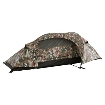 Mil-Tec テント 一人用 One Man TENT RECOM - MULTITARN Camo 迷彩