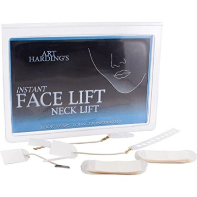 NEW INSTANT FACELIFT AND NECKLIFT FACE NECK LIFT KIT TAPES ANTI AGEING STRIPS By Emmy Award winning...