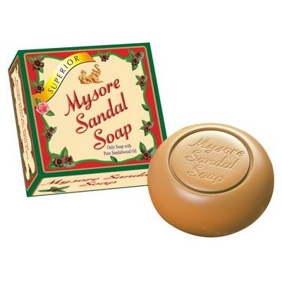 Mysore Ayurvedic Sandal Soap (SUPERIOR): Only soap with pure sandalwood oil, used by Celebs, Royal,...