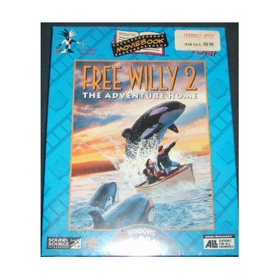 Free Willy 2 the Adventure Home Interactive Movie Book (輸入版)