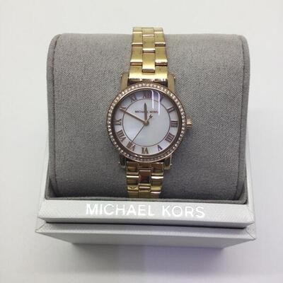 e20b66a67d19 MICHAEL KORS【マイケルコース】 MK-3558 Women's Norie Rose Gold-Tone Watch