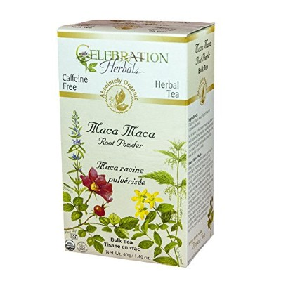 Celebration Herbals Herbal Organic Maca Maca Root Powder Tea -- 40 g by Celebration Herbals