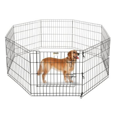 Pet Trex 24 Playpen for Dogs Eight 24 Wide x 24 High Panels by Pet Trex