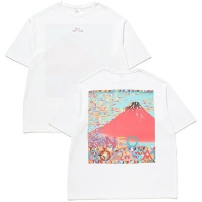 【SALE/30%OFF】Adam et Rope' Le Magasin 【NEOHOKUSAI】ビッグTシャツ アダム エ ロペ ル マガザン カットソー カットソーその他 ブラック
