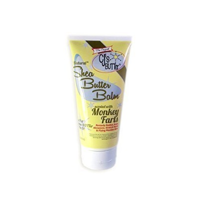 The Original CJ's BUTTer?? All Natural Shea Butter Balm - Monkey Farts, 6 oz. Tube by CJ's Butter...