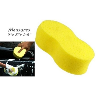 X-Large Super-Absorbent Sponge - 8.5 x 4.5 - Holds 34 oz of Liquid - Car Wash, Cleaning, Spill Mop...