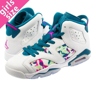 b746a26a4f1 NIKE AIR JORDAN 6 RETRO GG ナイキ エア ジョーダン 6 レトロ GG WHITE/LASER FUCHSIA.  SELECT SHOP LOWTEX
