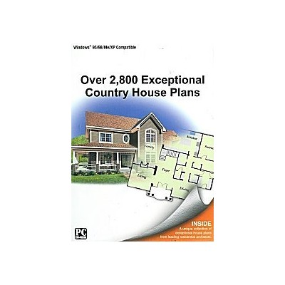 2,800 Exceptional Country House Plans (輸入版)