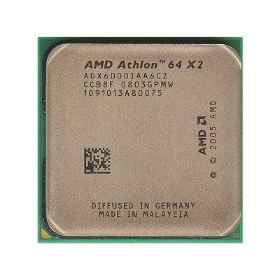 adx6000iaa6cz – AMD athlon64 x2 6000 3 GHz 2 MB am2