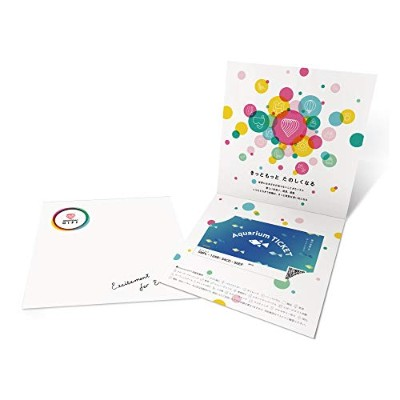 asoview!GIFT(アソビュー ギフト) Aquarium TICKET 海の世界をデートしよう 体験ギフト 水族館チケット ギフト 誕生日プレゼント プレゼント お祝い 景品 2次会 結婚式...