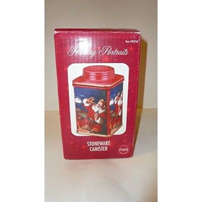 Coca - Cola Holiday Portraits Stoneware Canister – Jolly Santa Claus